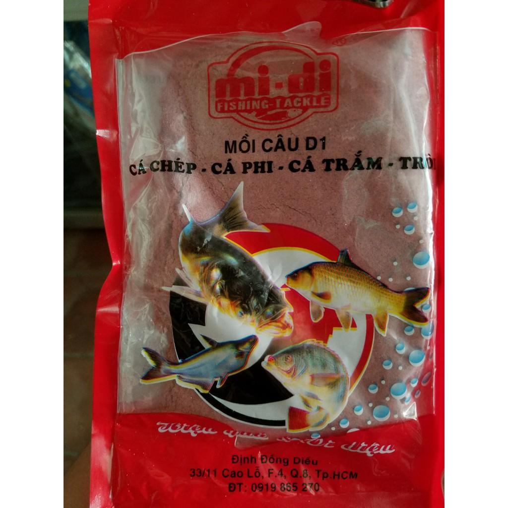 Bịch mồi câu cá Đinh Đồng Diêu - D1, D2, D3