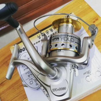 Máy câu cá Yolo TFB/KFB 3 bạc đạn cao cấp