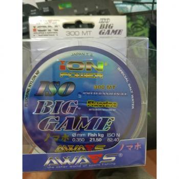 Cước câu cá AWA-SHIMA ION POWER BIG GAME Nhật bản
