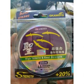Dây cước câu cá OKAMOTO ( cước 4 con cá) chính hãng